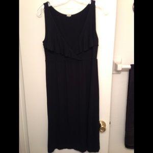 J. Crew Dress Black Small